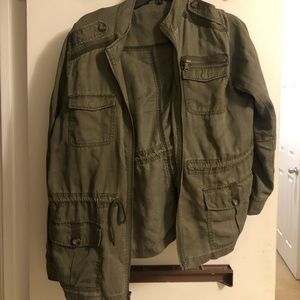 Olive Green jacket from Express
